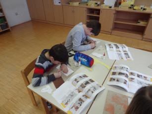 Ustvarjalna sreda v 3. razredu v Žalni