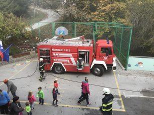 Preventivna požarna vaja na PŠ Kopanj