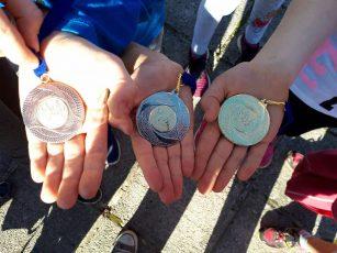 Celoten komplet medalj za Št. Jurij