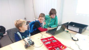 Obisk delavnice LEGO ROBOTIKA