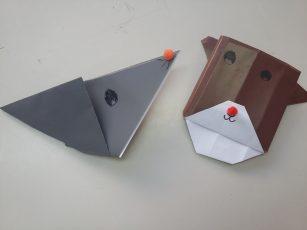 Učenci 1. razreda sodelujejo v projektu iEARN Origami
