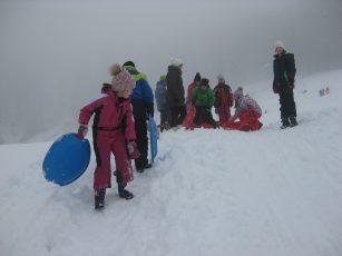 Zimski športni dan na snegu