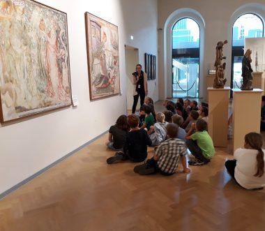 Žalski tretješolci v Narodni galeriji