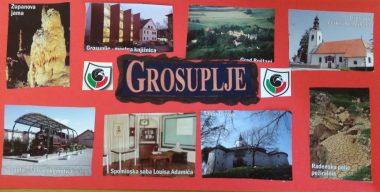 Lep pozdrav iz Grosupljega