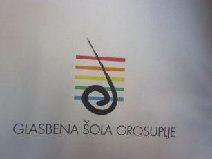 Prvošolci in drugošolci v Glasbeni šoli Grosuplje