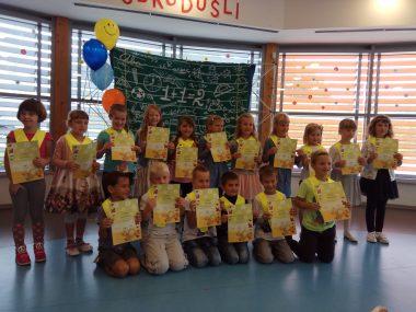 Vesel sprejem prvošolcev v Žalni