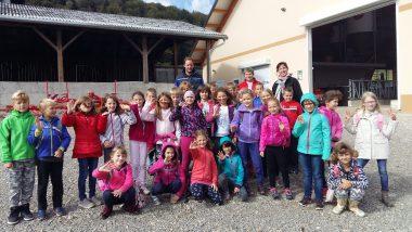 Obisk kmetije Valentinčič
