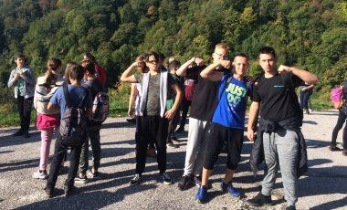 Pozdravi iz CŠOD Kavka