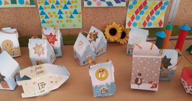 Tretješolci ustvarjali iz papirja