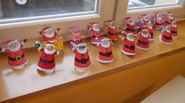 Veseli december v podaljšanem bivanju pri prvošolcih