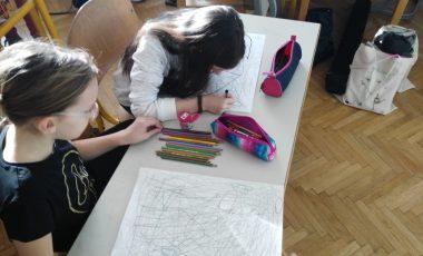 Obisk ilustratorke Line Žutaute