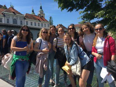 Slovensko-nizozemski partnerji na lovu na ljubljanske zaklade