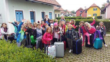 Učenci PŠ Št. Jurij, Žalna in Kopanj prispeli na cilj