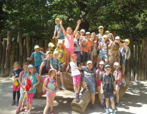 Obisk prvošolcev v živalskem vrtu