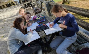 Četrti dan tabora sedmošolcev v CŠOD Planinka