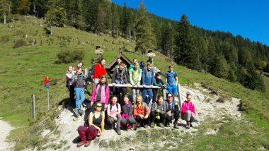 Bornova pot s planinskim krožkom