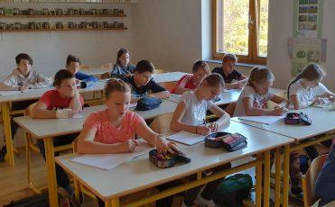 Tabor sedmošolcev v CŠOD Planinka