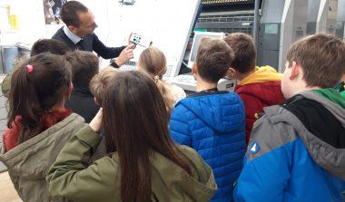 Obisk tiskarne v Grosupljem
