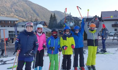 Zimski športni dan petošolcev DE Adamičeva