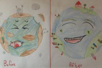 Dogajanje v domačih učilnicah
