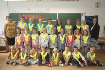 Vesel prvi šolski dan v Žalni