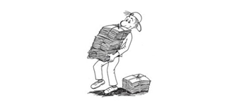 Zbiralna akcija starega papirja na ME Tovarniška