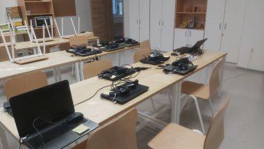 Računalniška oprema za spremljanje pouka na daljavo