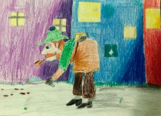 Ilustracije detektivskih zgodb