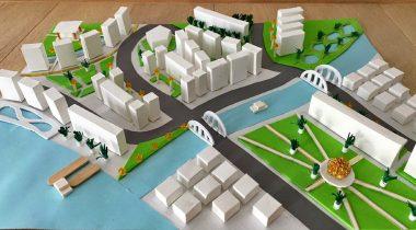 Mladi arhitekti s Tovarniške – 2. del – makete devetošolcev