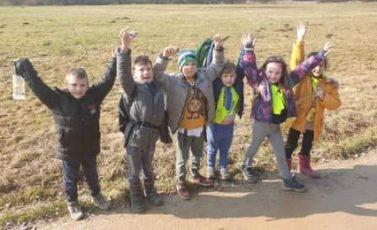 Pohodniki in Mladi pohodniki preganjali zimo
