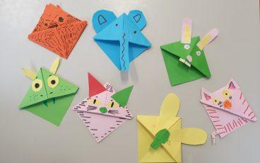 Origami navdušuje učence