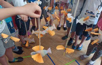 Origami – ustvarjanje iz papirja