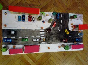 S  tehniškim dnem prvošolci zaključili projekt Varno v vrtec in šolo
