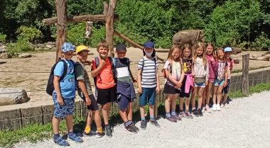 Kopanjci v živalskem vrtu