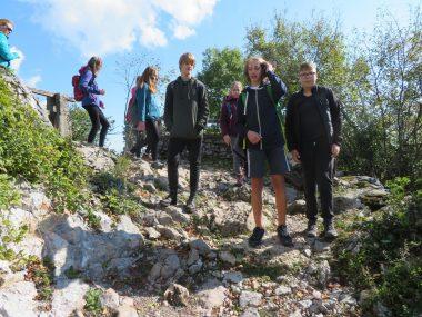 Planinski krožek odšel na pohod na Lubnik