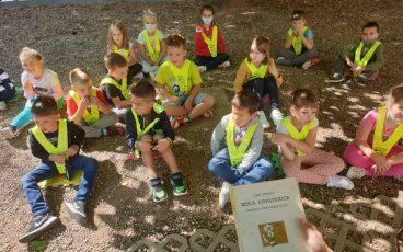 Prvošolci imeli na obisku Bralno sovico